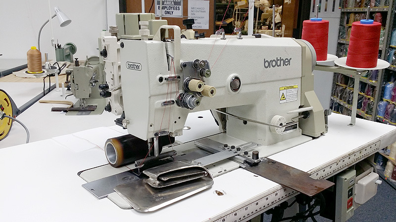 BROTHER TN-842 Double Needle Sewing Machine with 3