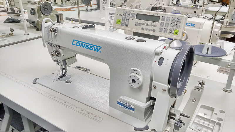 CONSEW P1206-7 Automatic Walking Foot Sewing Machine