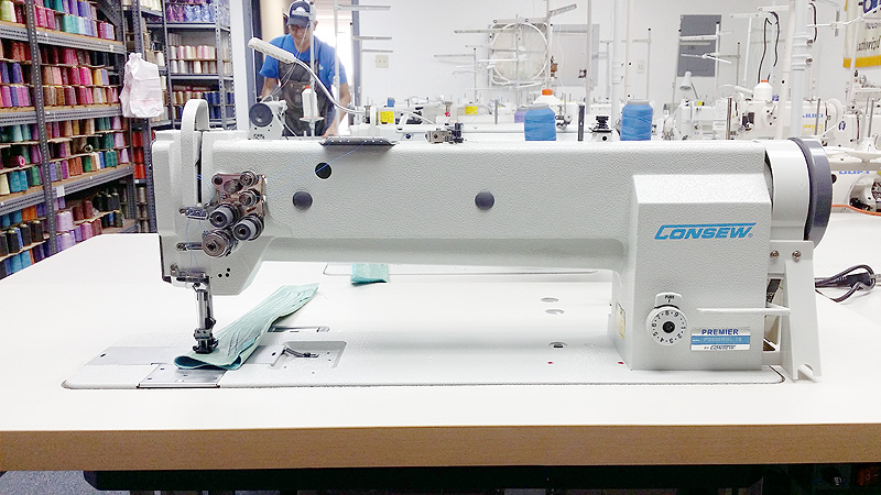 CONSEW P2339RBL-18 Two Needle Long Arm Sewing Machine