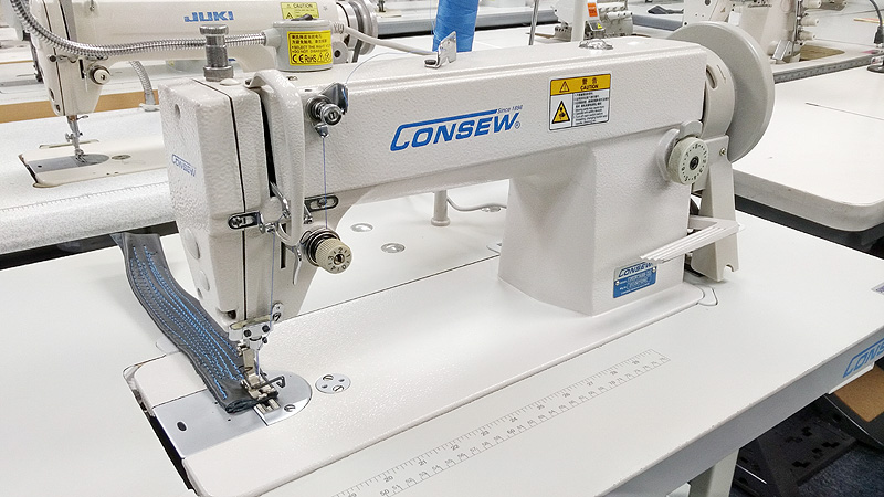 CONSEW 7360RB-2SS Big Bobbin Single Needle Sewing Machine