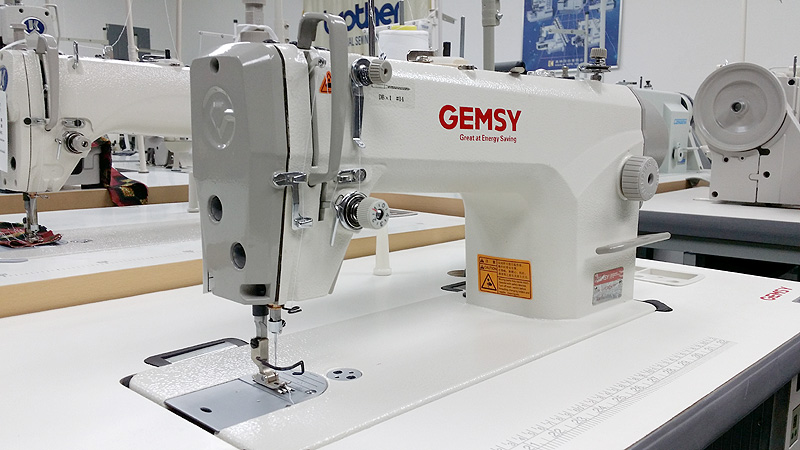 GEMSY GEM-8801-D1 Single Needle Sewing Machine