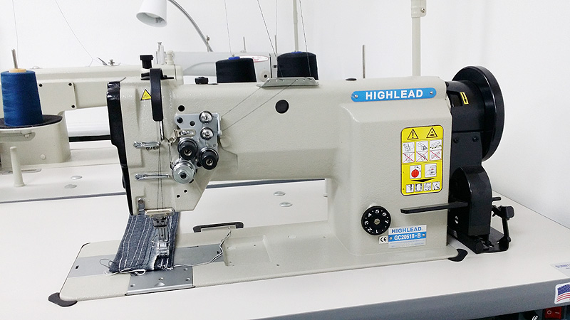HIGHLEAD GC20518-B Double Needle Sewing Machine - Sunny Sewing