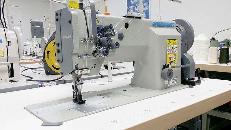 HIGHLEAD GC20618-2 Double Needle Walking Foot Sewing Machine - Sunny Sewing