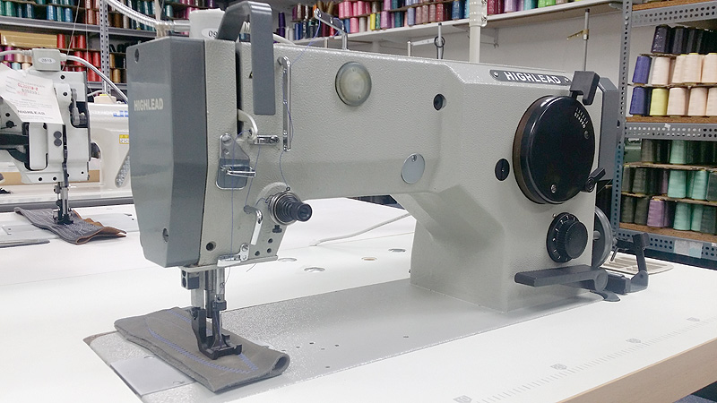 HIGHLEAD GG0328-1 Walking Foot Zig Zag Sewing Machine