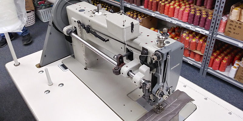 HIGHLEAD GA0688-1 Walking Foot Sewing Machine for Heavy Weight Materials