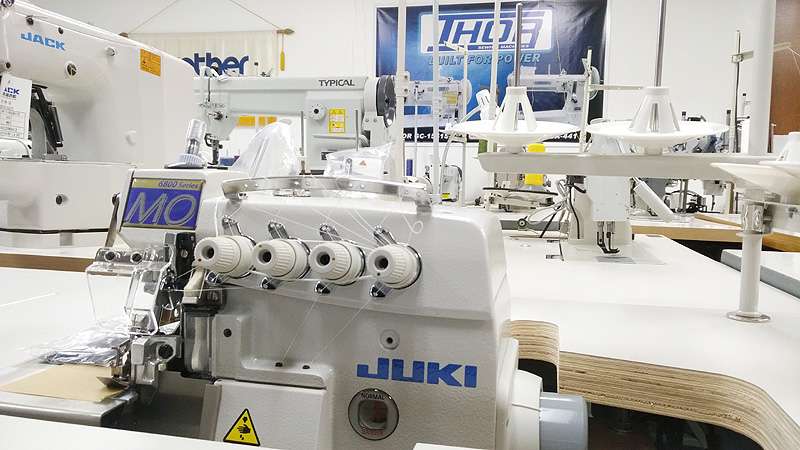 JUKI MO-6816S Five Thread Industrial Serger