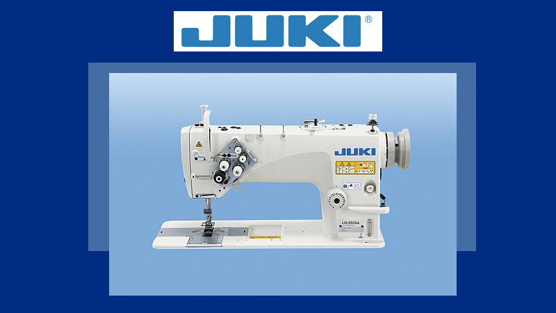 JUKI LH-3528A Double Needle Lockstitch Sewing Machine