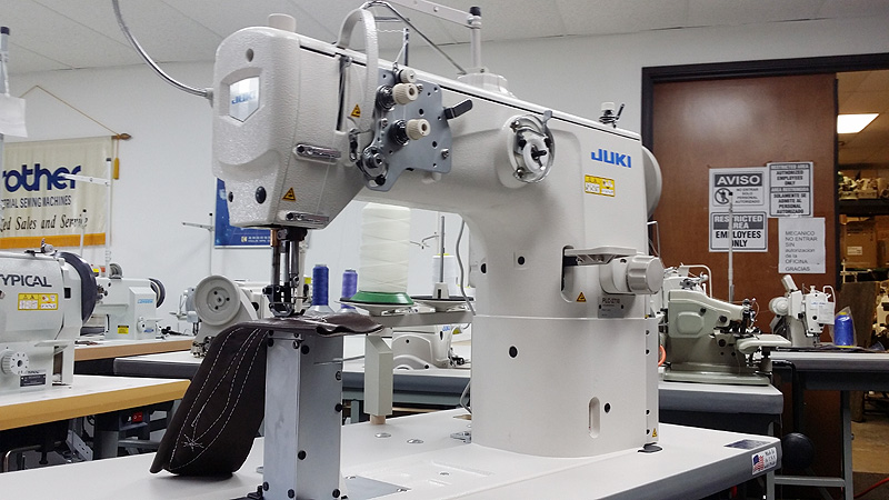 JUKI PLC-2710 Post Bed Walking Foot Sewing Machine