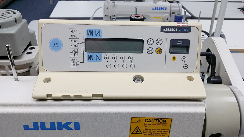 JUKI DLN-5410-7 Automatic Needle Feed Sewing Machine