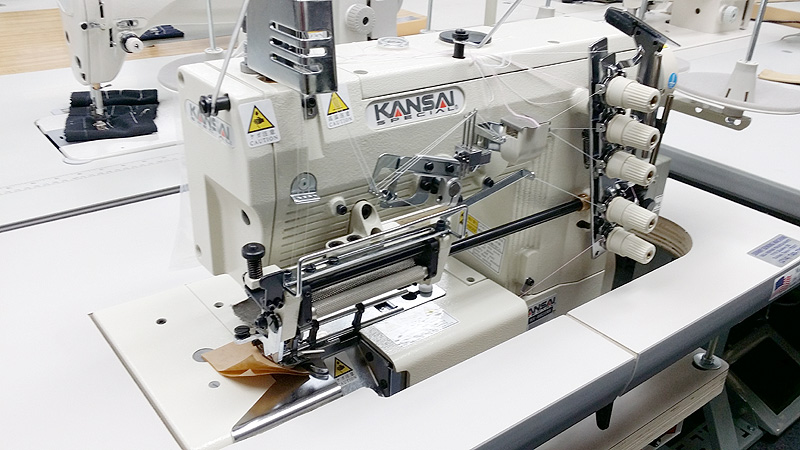 KANSAI SPECIAL WX 8803 EMK Coverstitch Machine
