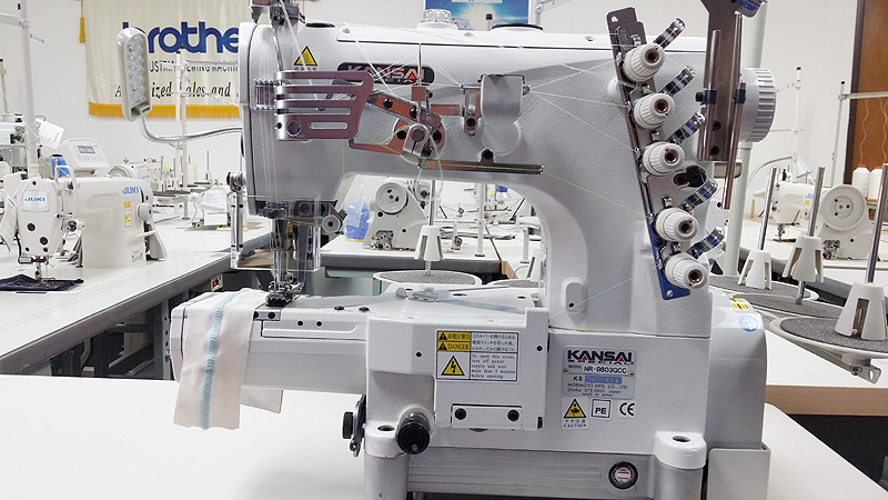 KANSAI SPECIAL NR-9803GCC Cylinder Bed Coverstitch Machine