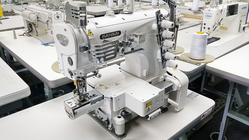 KANSAI SPECIAL NC-1103GDA Ultra Small Cylinder Bed Coverstitch Sewing Machine