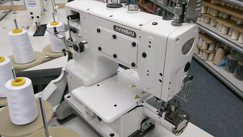 KANSAI SPECIAL NC-1103-GDA Small Cylinder Coverstitch Sewing Machine