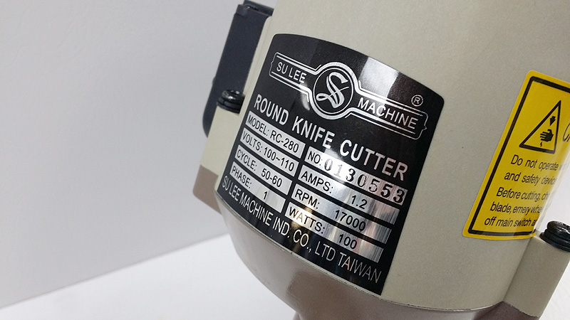 SULEE RC-280 Round Knife Cutter