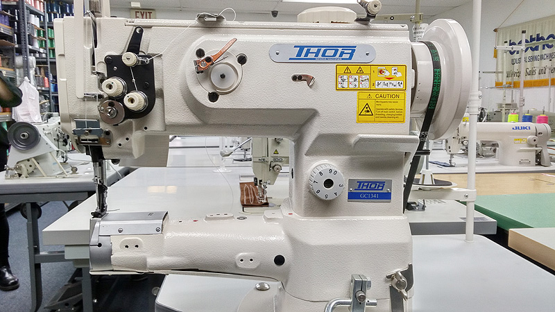 THOR GC-1341 Cylinder Arm Walking Foot Sewing Machine