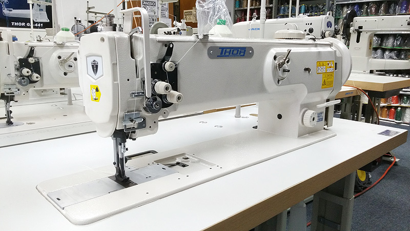 THOR GC-1508L-18 Long Arm Walking Foot Sewing Machine