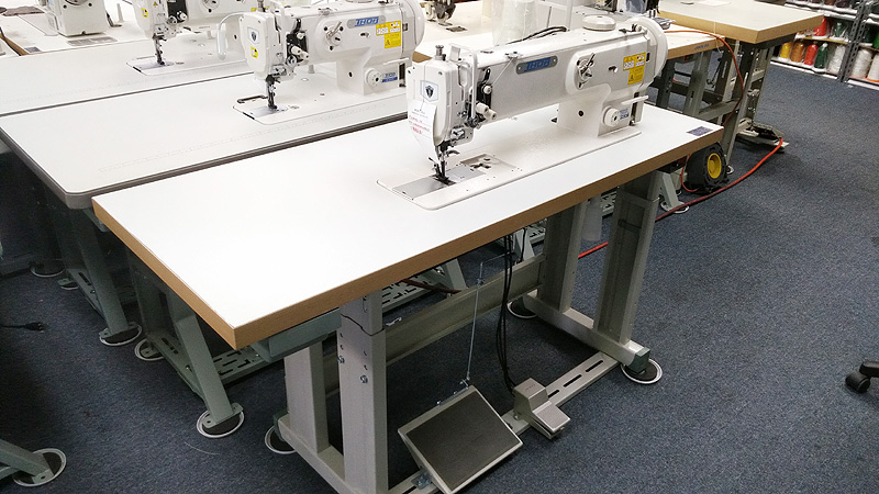 THOR GC-1508L-18 Long Arm Single Needle Walking Foot Sewing Machine