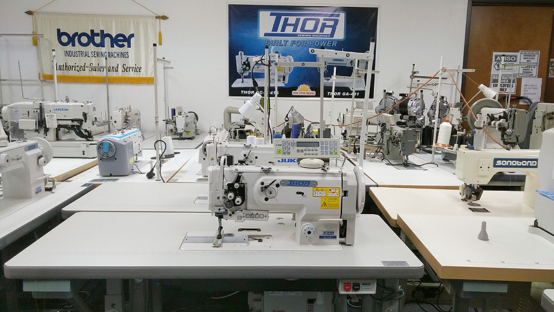 THOR GC 1510-7 Automatic Walking Foot Sewing Machine
