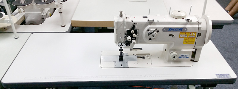 THOR GC 1560 Double Needle Walking Foot Sewing Machine