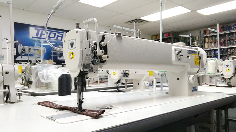THOR GC-1510L-25H Long Arm HIGH Arm Single Needle Walking Foot Sewing Machine