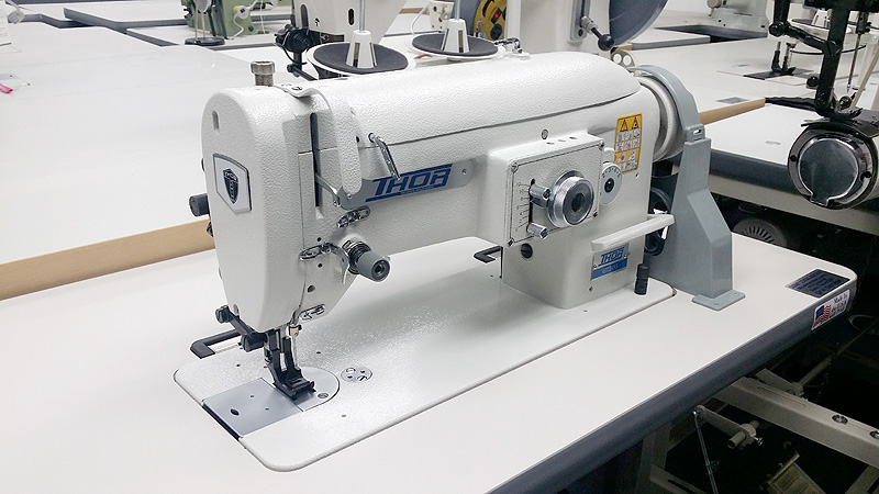THOR GC 1541S Walking Foot Sewing Machine for Leather and Upholstery