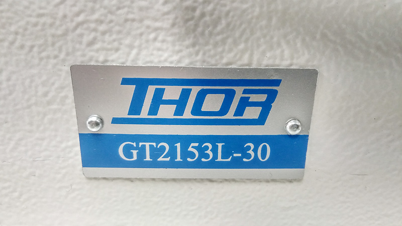THOR GT-2153L-30 Long Arm Walking Foot Zig Zag Machine