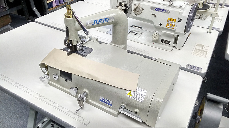 THOR GT-801 Leather Skiving Machine