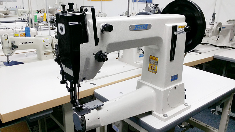 KINGMAX Cylinder Arm Walking Foot Sewing Machine