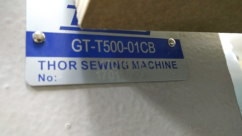 THOR GT-T500 Coverstitch Sewing Machine