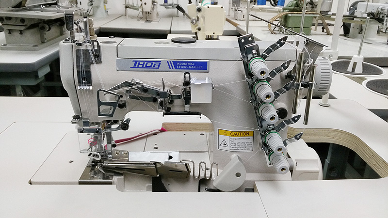 THOR RE-500C Binding Coverstitch Sewing Machine