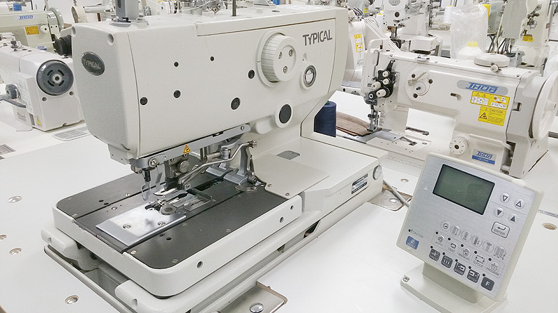TYPICAL GT9820 Electronic Keyhole Sewing Machine