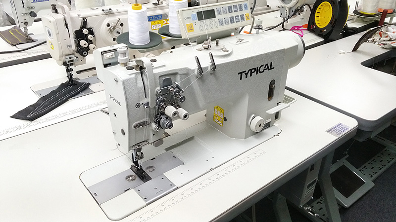 TYPICAL GC9720-HD3 Automatic Double Needle Sewing Machine