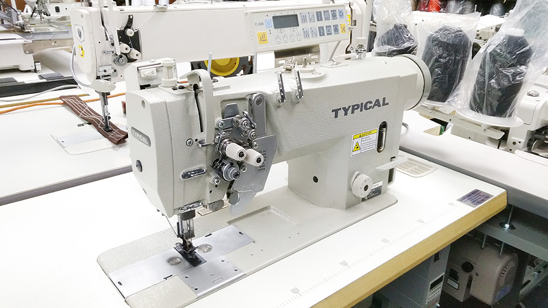 Automatic Split Needle Bar Sewing Machine - TYPICAL GC9750-HD3