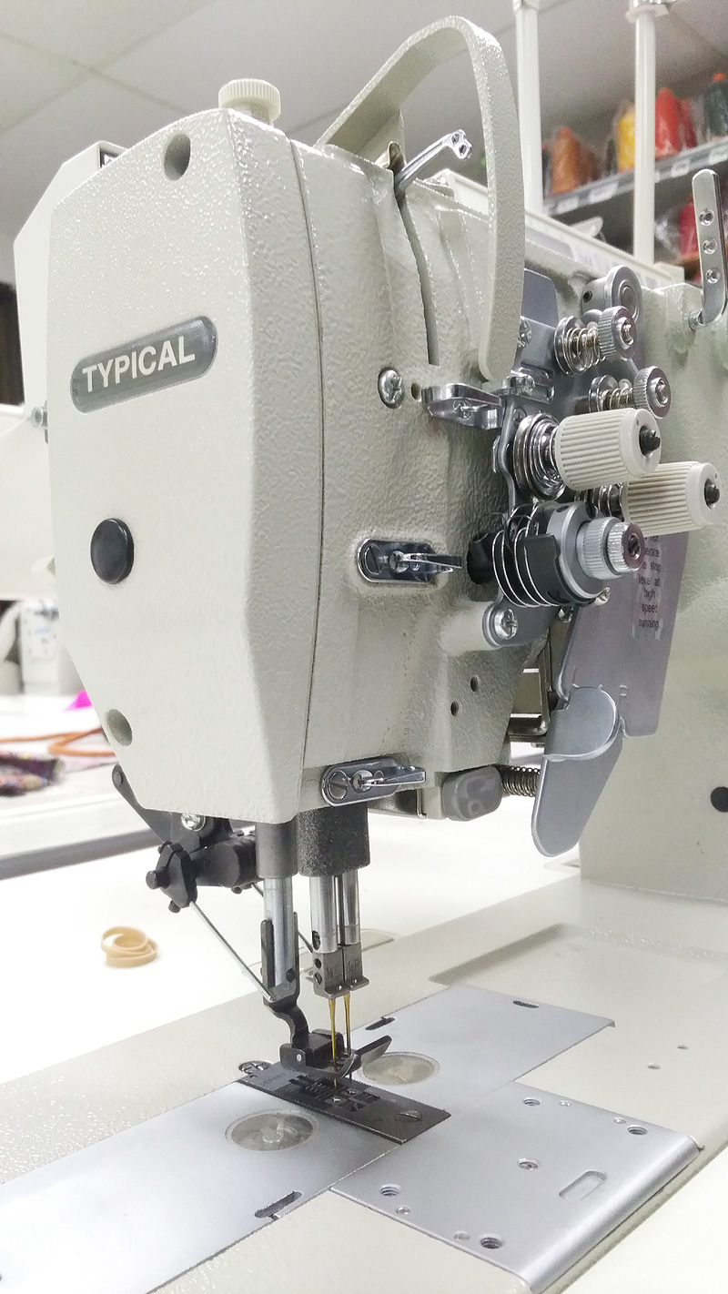 TYPICAL GC9750-HD3 Double Needle Split Bar Sewing Machine