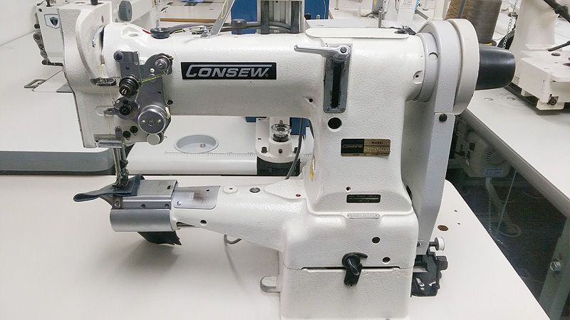 CONSEW 227R Automatic Cylinder Arm Walking Foot Sewing Machine